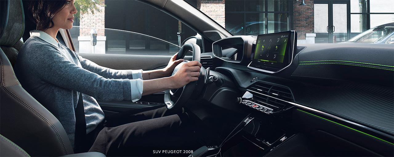 NEW PEUGEOT 2008 – NEW PEUGEOT i-Cockpit® 3D