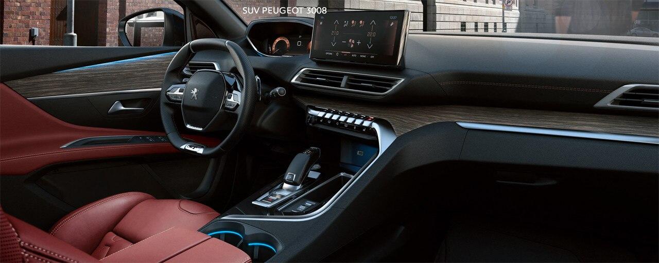 Novi SUV PEUGEOT 3008 - Kožni crveni enterijer