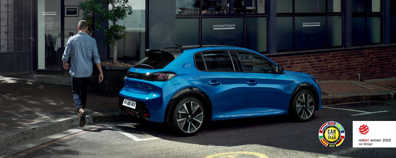 Peugeot 208 со својата карактеристична спортска линија